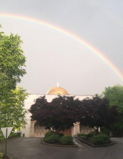 Church rainbow 2